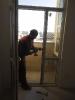 نصب پنجره و درب تراس  بلوک دهم سی ام دیماه 1399